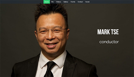 Mark Tse - conductor based in the Boston area