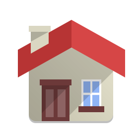 symbol for house with windows